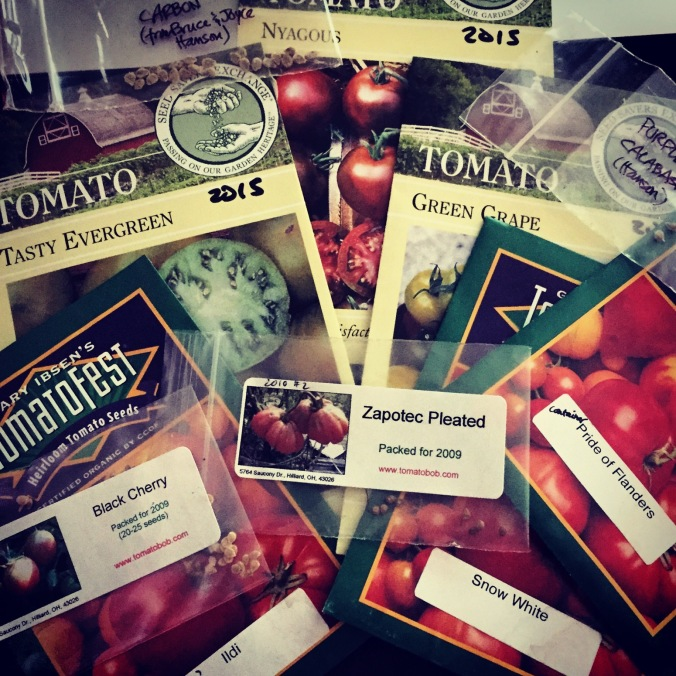Heirloom tomatoes for 2015 planting
