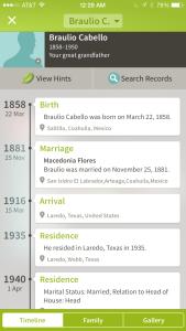 Braulio-Ancestry